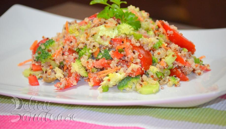 Salata de quinoa - Delicii Sanatoase