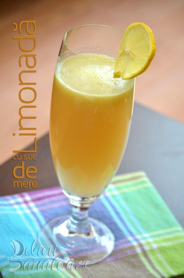 Limonada cu mere - Delicii Sanatoase