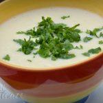 Supa crema de conopida cu lapte de migdale - Delicii Sanatoase