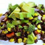 Salata cu orez negru - 2 - Delicii Sanatoase