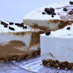 Tort cu crema de cocos si ciocolata - 02 - Delicii Sanatoase