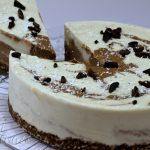 Tort cu crema de cocos si ciocolata - 03 - Delicii Sanatoase