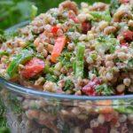 Salata de hrisca cu dressing de tahini - 01 - Delicii Sanatoase