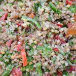 Salata de hrisca cu dressing de tahini - 02 - Delicii Sanatoase