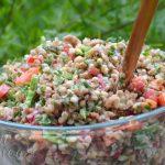 Salata de hrisca cu dressing de tahini - 03 - Delicii Sanatoase